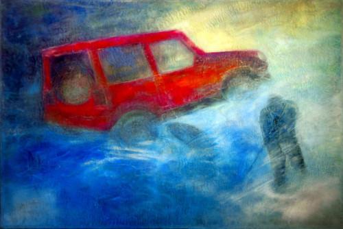Mon Jeep, ma rivière et mon poisson