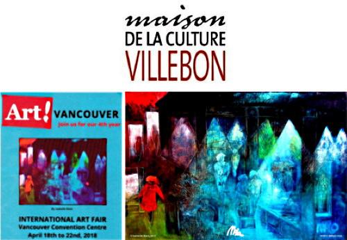 Ombres et Lumières à la maison de la culture Villebon de Beloeil
