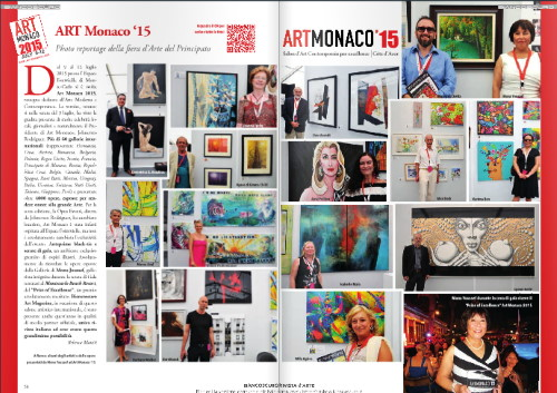 Isabelle Malo cited in BIANCOSCURO Art Magazine