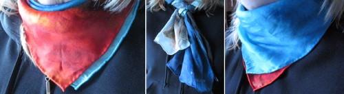 Silk Scarves Line