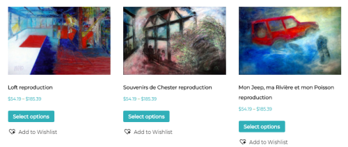 eCommerce Online Shopping website for Originals and Reproductions